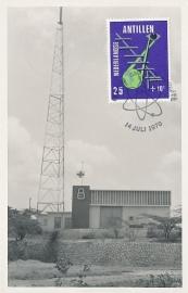 ®® 1970 NVPH 429 NED. ANTILLEN Televisiemast