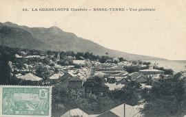 © 1923 GUADELOUPE General view - Basse Terre