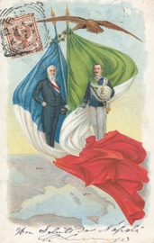 © 1904 - ITALY - House of Savoy Coat of arms