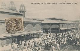© 1906 - HAÏTI - Market Port-au-Prince