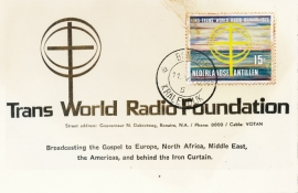 ®® 1970 NVPH 422 NED. ANTILLEN Radio Bonaire