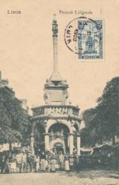© 1920 - BELGIUM Le Perron Luik Liège