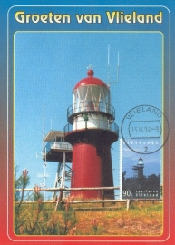 1994 NETHERLANDS Lighthouse Vlieland