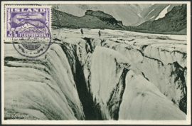 © 1936 - ICELAND Mountains and glacier