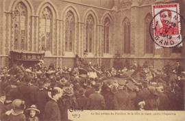 © 1913 - BELGIUM King Albert I