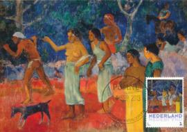 þþ - 2013 Gauguin Scene from Tahitian Life