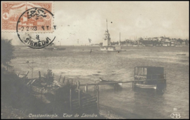 © 1923 - TURKEY Constantinople Leandros Tower