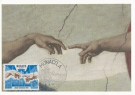 1971 MONACO - Michelangelo Unesco