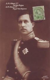 © 1917 - BELGIUM King Albert I