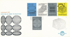 æ E 104 - 1970 Zomerzegels