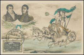 © 1910 ARGENTINA General San Martin and Belgrano