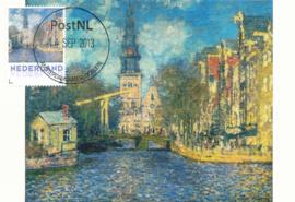 þþ - 2013 Monet The Zuiderkerk in Amsterdam