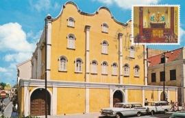 ®® 1970 NVPH 424 NED. ANTILLEN Synagoge