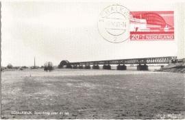 1968 NETHERLANDS Railway bridge