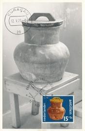 ®® 1971 NVPH 437 NED. ANTILLEN Aarden pot
