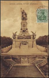 © 1909 - GERMAN REICH - National Statue Germania