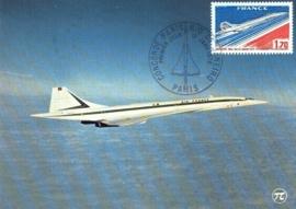 1976 FRANCE - Concorde
