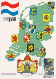 ® 1990 - CATA 1446 Landkaart Nederland