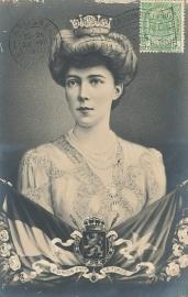 © 1910 - BELGIUM Coat of arms