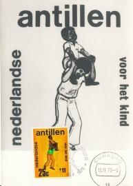 ®® 1970 NVPH 433 NEDERL. ANTILLEN Kind en spel