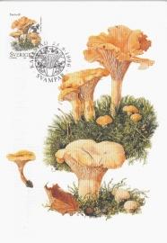 1996 SWEDEN - Mushroom Chanterelle