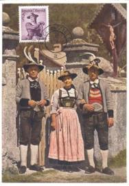 1956 AUSTRIA - Costumes Zell am Ziller