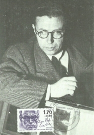1985 FRANCE - Philosopher Sartre