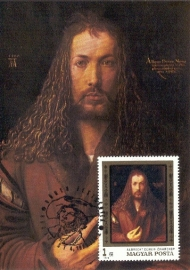 1978 HUNGARY - Dürer Self portrait