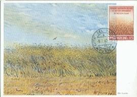 1962 VATICAN - Harvest Grain