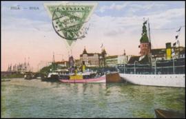 © 1929 - LATVIA Riga - City overview