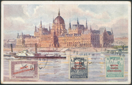 © 1920 - HUNGARY Budapest Parliament