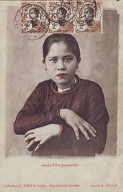 © 1908 INDO CHINA Annamite woman
