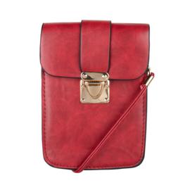 Langwerpig mini bag -Rood