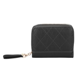 Compacte portemonnee Kimmy -zwart