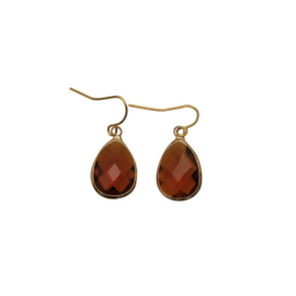 DARE TO BE FABULOUS  teardrop cognac small