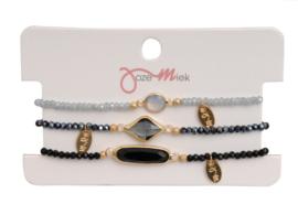 Jozemiek Minimalistic Embrace Cristal Stone 3pcs set 7