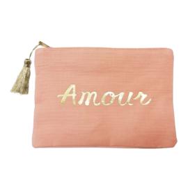 Jozemiek Make-up bag Amour - Peach