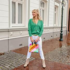Jeans elles - wit