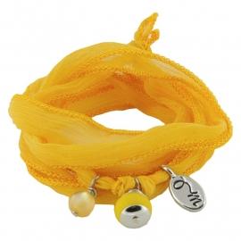 Rakhi Happiness collection: Lemon Zest  (2pcs)