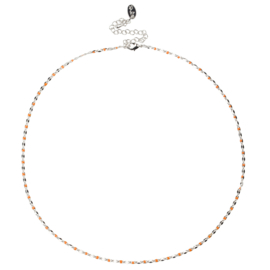 ONE DAY charity necklace orange (14k geelgoud  of  witgoud)