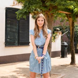 Jozemiek jurk Kaja - blauw