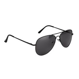 Jozemiek Piloten bril - zwart montuur