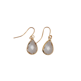 DARE TO BE FABULOUS  teardrop crystal small