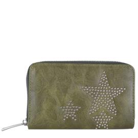 Star portemonnee green Medium