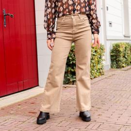 Jozemiek  mom jeans Karin - beige