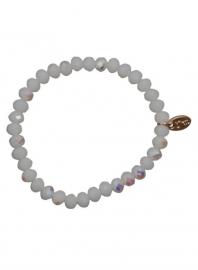 Embrace White Diamond  8 of 10 mm ( 3pcs) Diamond coating