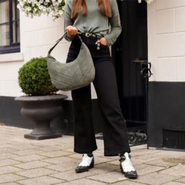 Jozemiek mom jeans Karin - zwart