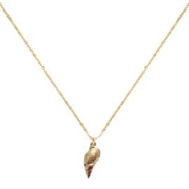 Jozemiek - ocean jewelry - grote schelp ketting