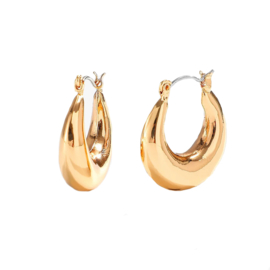 Jozemiek oorring rond coco - hoops - Cuban collection
