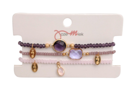 Jozemiek Minimalistic Embrace Cristal Stone 3pcs set 4